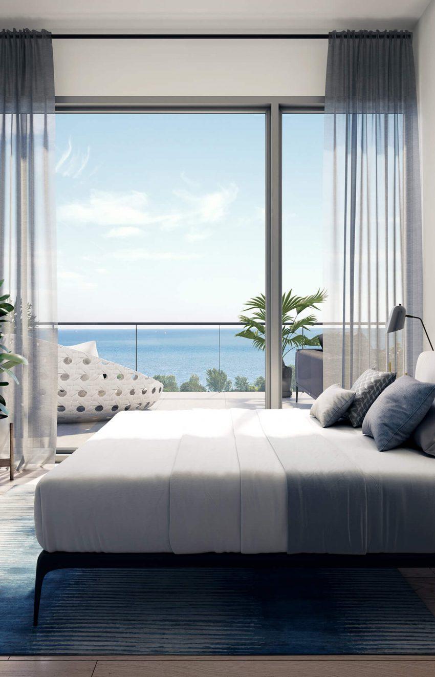 rise-at-stride-condos-1063-Douglas-McCurdy-Common-mississauga-port-credit-lakeview-bedroom