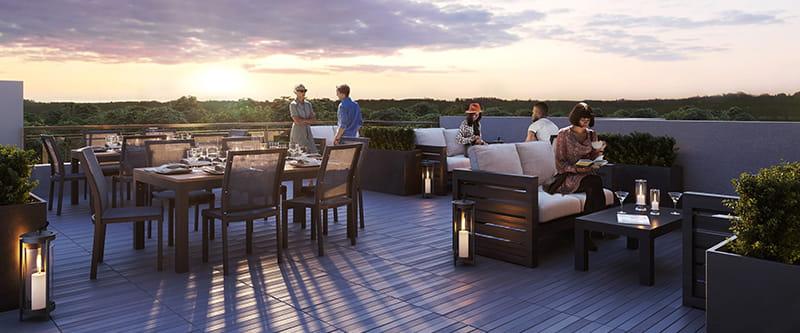 5north-1388-dundas-st-w-oakville-condos-rooftop-terrace