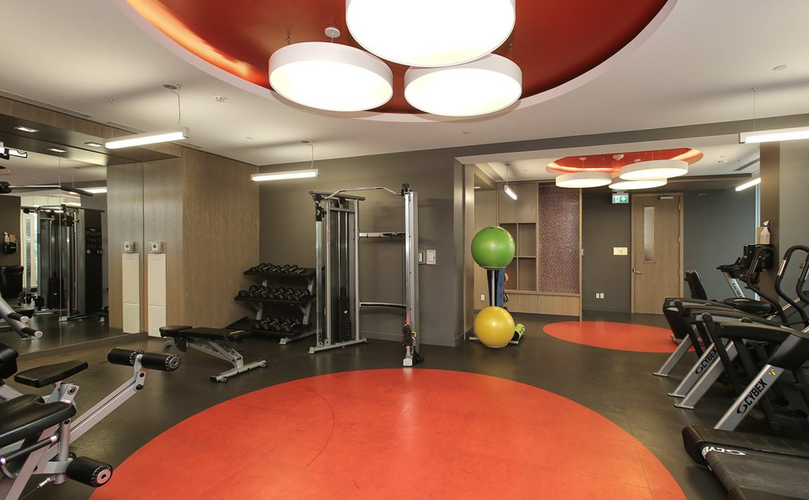 the-kip-district-one-20-thomas-riley-rd-condos-etobicoke-gym-fitness-cardio