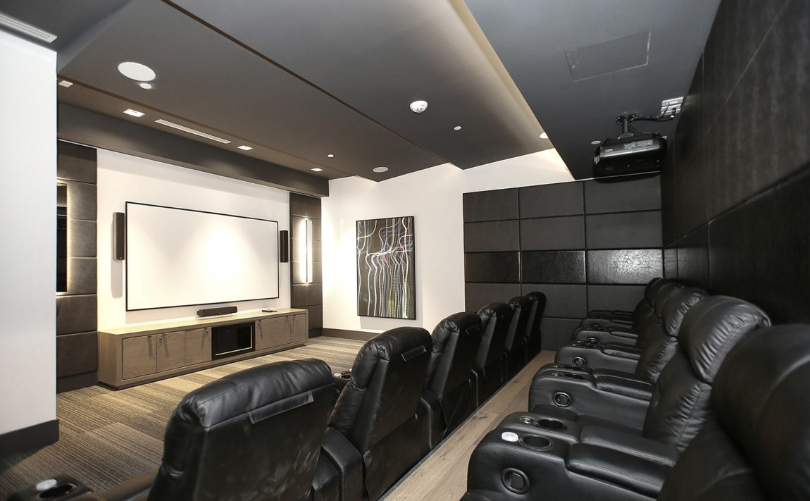 the-kip-district-one-20-thomas-riley-rd-condos-etobicoke-media-room-theatre