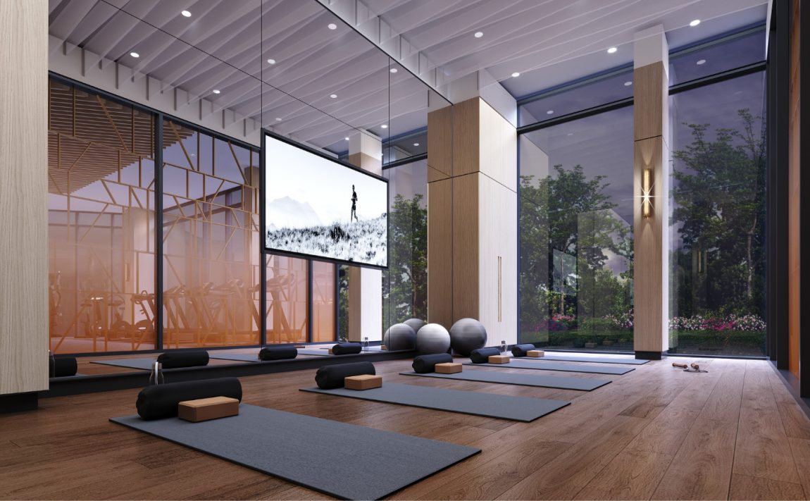 westerly-condos-25-cordova-ave-etobicoke-tridel-yoga-studio