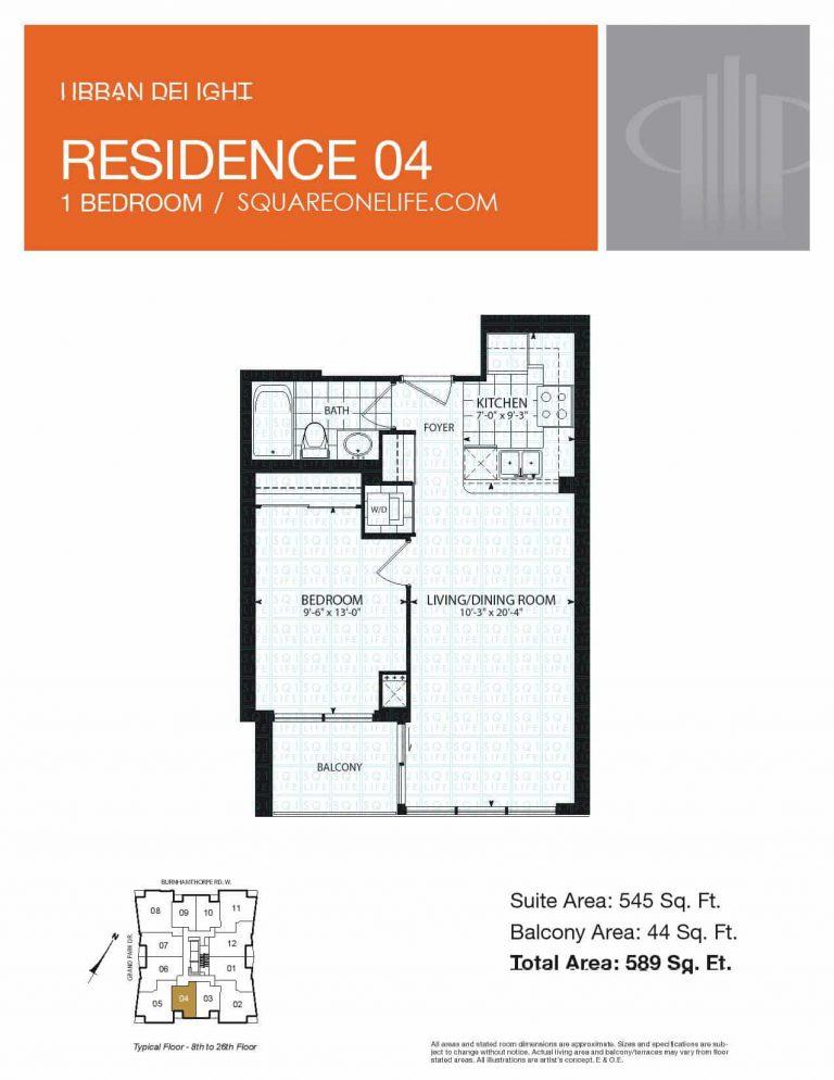 Grand-Park-Condo-3985-Grand-Park-Dr-Floorplan-Residence-4-1-Bed-1-Bath