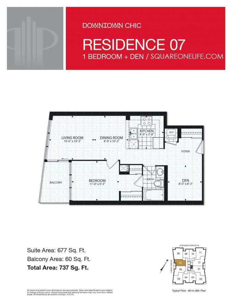 Grand-Park-Condo-3985-Grand-Park-Dr-Floorplan-Residence-7-1-Bed-1-Den-1-Bath