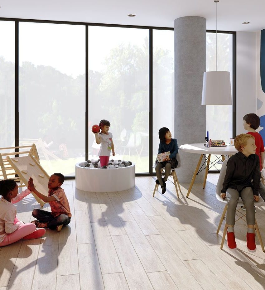 kazmir-condos-880-the-queensway-toronto-etobicoke-children-play-room