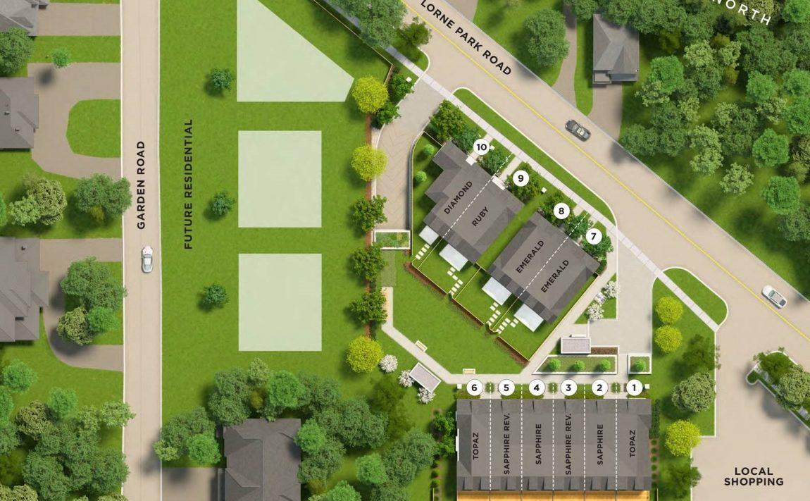 lorne-park-place-mississauga-1190-lorne-park-rd-siteplan