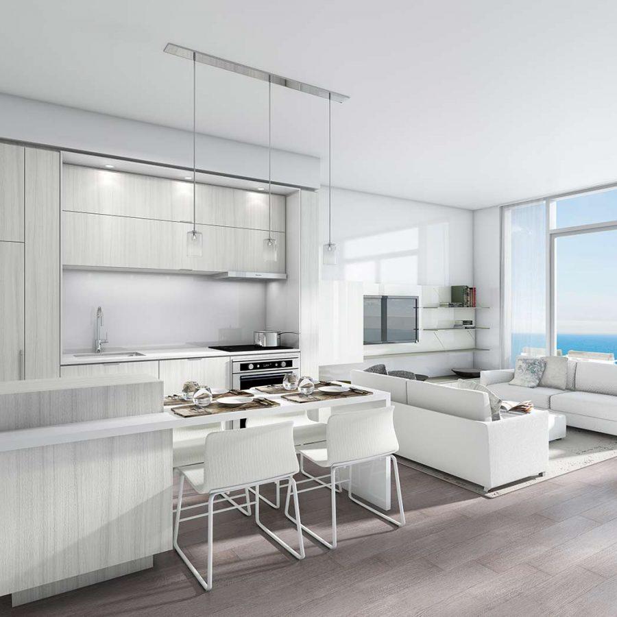 nautique-condos-374-martha-st-burlington-kitchen-living-room